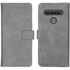 iMoshion Luxuriöse Buchtyp-Hülle LG K61 - Grau