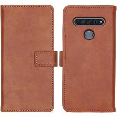 iMoshion Luxuriöse Buchtyp-Hülle LG K61 - Braun
