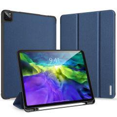 Dux Ducis Domo Book Case Dunkelblau für iPad Pro 11 (2020)