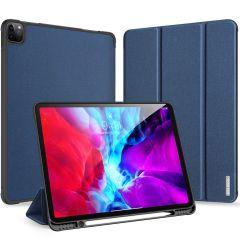 Dux Ducis Domo Book Case Dunkelblau für iPad Pro 12.9 (2020)