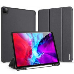 Dux Ducis Domo Book Case Schwarz für iPad Pro 12.9 (2020)