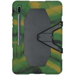 Extreme Protection Army Case Grün Samsung Galaxy Tab S6