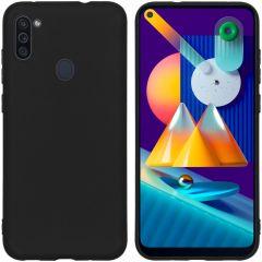 iMoshion Color TPU Hülle für das Samsung Galaxy M11 / A11 - Schwarz