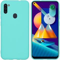 iMoshion Color TPU Hülle für Samsung Galaxy M11 / A11 - Mintgrün
