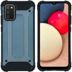 iMoshion Rugged Xtreme Case Samsung Galaxy A02s - Dunkelblau