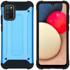 iMoshion Rugged Xtreme Case Samsung Galaxy A02s - Hellblau