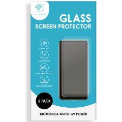 iMoshion Bildschirmschutzfolie Glas 2er-Pack Motorola Moto G9 Power