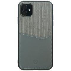 Valenta Card Slot Backcover Grau für das iPhone 11