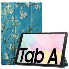 iMoshion Design Trifold Bookcase Galaxy Tab A7 - Green Plant