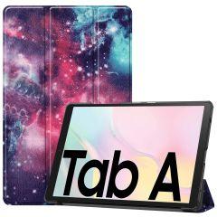 iMoshion Design Trifold Bookcase Galaxy Tab A7 - Space Design