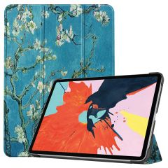 iMoshion Design Trifold Bookcase iPad Air (2020) - Green Plant