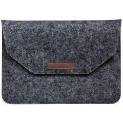 Soft Sleeve aus Filz 15 Zoll - Dunkelgrau
