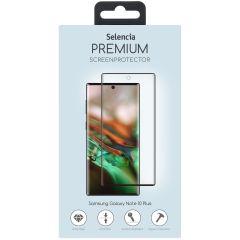 Selencia Screen Protector aus gehärtetem Glas Galaxy Note 10 Plus