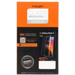 Spigen GLAStR Tempered Glas Displayschutzfolie für Galaxy Note 9