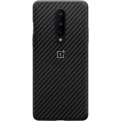 OnePlus Carbon Protective Backcover Schwarz für das OnePlus 8