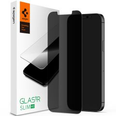 Spigen GLAStR Privacy Displayschutzfolie iPhone 12 Mini