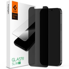 Spigen GLAStR Privacy Displayschutzfolie iPhone 12 (Pro)