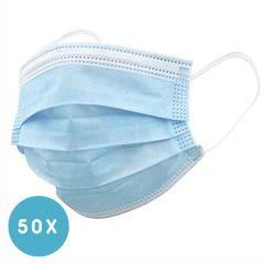 Unisex-Einweg-Mundschutz mit Gummiband für Erwachsene