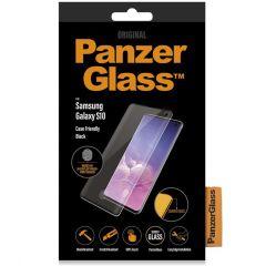 PanzerGlass Case Friendly Displayschutzfolie Schwarz Samsung Galaxy S10