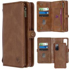 iMoshion 2-1 Wallet Booktype das Samsung Galaxy S20 FE - Braun