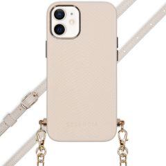 Selencia Aina Hülle aus Schlangenleder mit Band iPhone 12 Mini