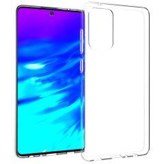 Accezz TPU Clear Cover Samsung Galaxy A72 - Transparent