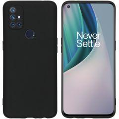 iMoshion Color TPU Hülle für das OnePlus Nord N10 5G - Schwarz
