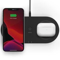 Belkin Dual Wireless Fast Charging Pads - 15W - Schwarz