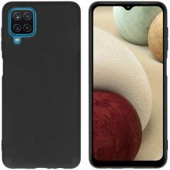 iMoshion Color TPU Hülle für das Samsung Galaxy A12 - Schwarz