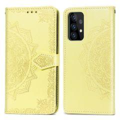 iMoshion Mandala Booktype-Hülle Samsung Galaxy A72 - Gelb