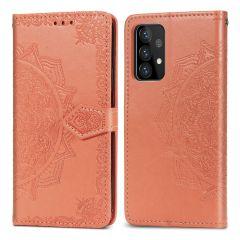 iMoshion Mandala Booktype-Hülle Samsung Galaxy A72 - Peach