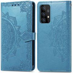 iMoshion Mandala Booktype-Hülle Samsung Galaxy A72 - Türkis
