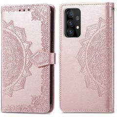 iMoshion Mandala Booktype-Hülle Samsung Galaxy A72 - Roségold