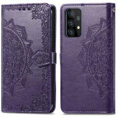 iMoshion Mandala Booktype-Hülle Samsung Galaxy A72 - Violett