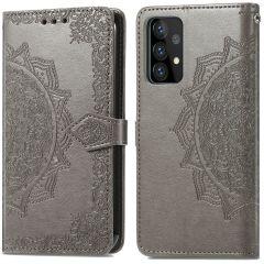 iMoshion Mandala Booktype-Hülle Samsung Galaxy A72 - Grau