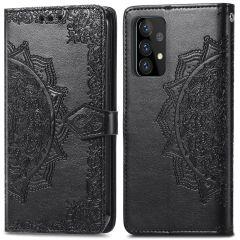 iMoshion Mandala Booktype-Hülle Samsung Galaxy A72 - Schwarz