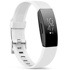 iMoshion Silikonband für die Fitbit Inspire - Weiß
