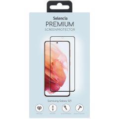 Selencia Screen Protector aus gehärtetem Glas Samsung Galaxy S21