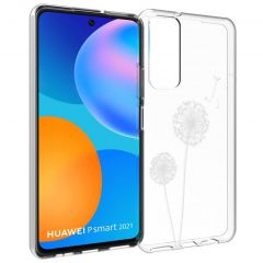 iMoshion Design Hülle Huawei P Smart (2021) - Pusteblume - Weiß