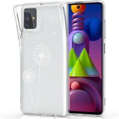 iMoshion Design Hülle Samsung Galaxy M51 - Pusteblume - Weiß