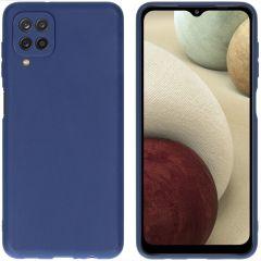iMoshion Color TPU Hülle für das Samsung Galaxy A12 - Dunkelblau