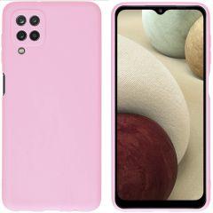 iMoshion Color TPU Hülle für das Samsung Galaxy A12 - Rosa