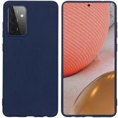 iMoshion Color TPU Hülle für das Samsung Galaxy A72 - Dunkelblau