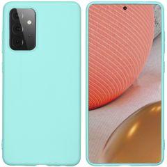 iMoshion Color TPU Hülle für das Samsung Galaxy A72 - Mintgrün
