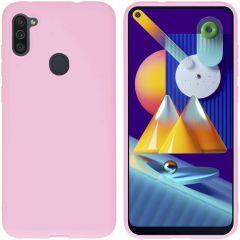 iMoshion Color TPU Hülle für Samsung Galaxy M11 / A11 - Rosa