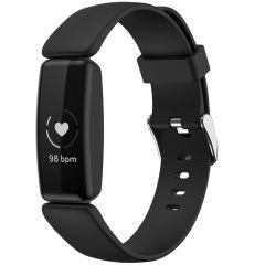iMoshion Silikonband für das Fitbit Inspire 2 - Schwarz