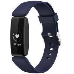 iMoshion Silikonband für das Fitbit Inspire 2 - Dunkelblau