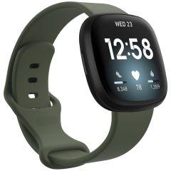 iMoshion Silikonband für das Fitbit Sense / Versa 3 - Grün