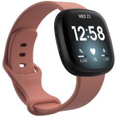 iMoshion Silikonband für das Fitbit Sense / Versa 3 - Orange
