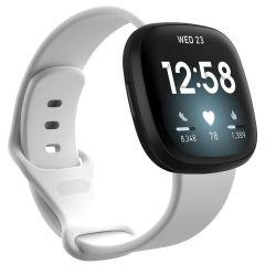 iMoshion Silikonband für das Fitbit Sense / Versa 3 - Weiß